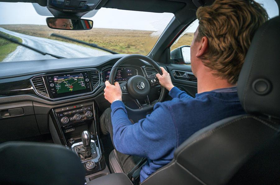 VW T-Roc R - interior