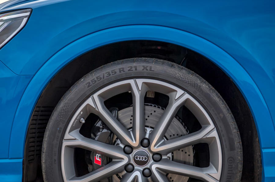 Audi RS Q3 Sportback 2019 UK first drive review - alloy wheels