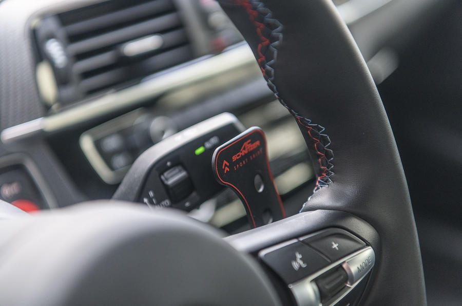 AC Schnitzer ACS2 Sport 2019 first drive review - paddle shifters