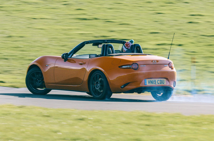 Mazda MX-5 - Best affordable driver's car winner - rear