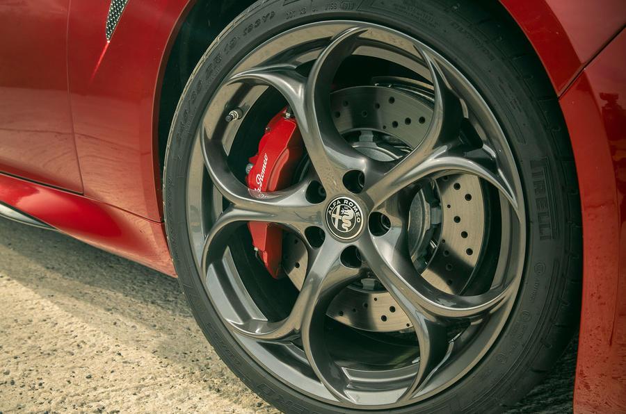 Alfa Romeo Giulia Quadrifoglio 2020 UK first drive review - alloy wheels