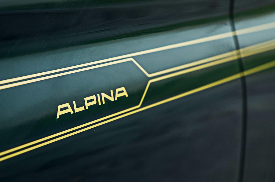 Alpina B5 BiTurbo saloon decals