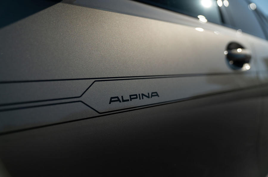 Alpina D3 S Touring 2020 first drive review - decals