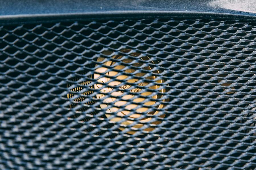 Aston Martin DBS Superleggera Volante 2019 UK first drive review - engine grille
