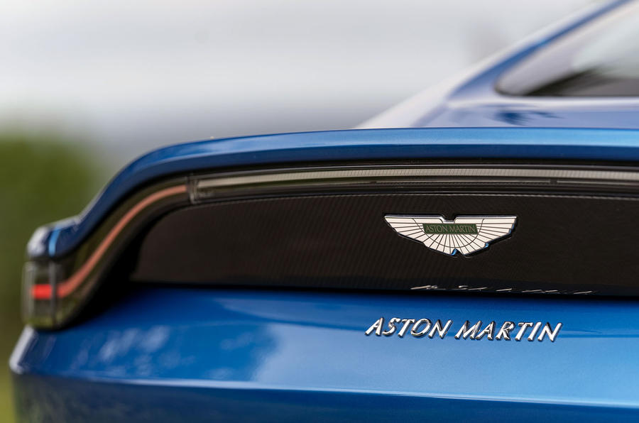 Aston Martin Vantage manual 2019 first drive review - spoiler
