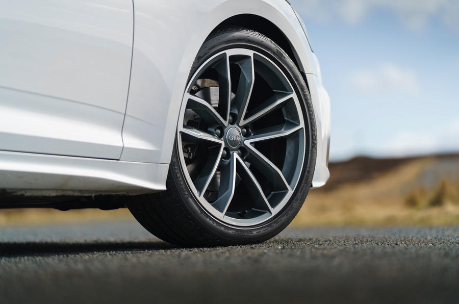 Audi A5 Coupe 2020 UK first drive review - alloy wheels
