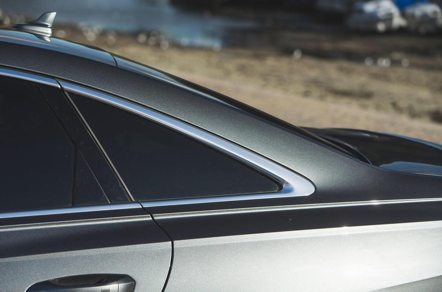 Audi A6 2018 long-term review - rear glass