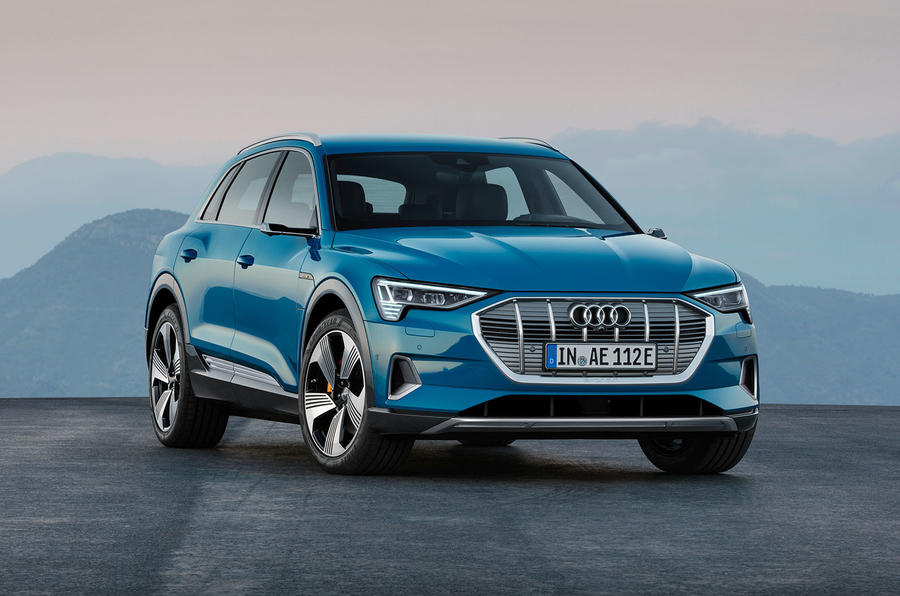 Audi E-tron 2019 official reveal static