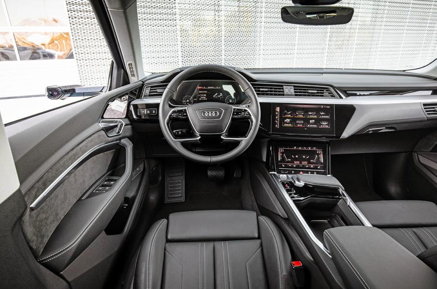 Audi E-tron quattro 2018 first drive review - dashboard
