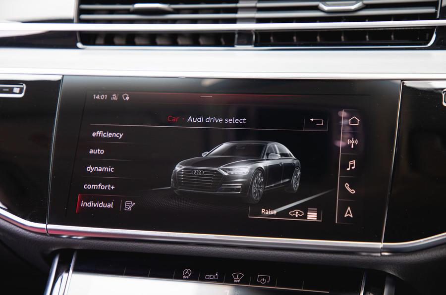 Audi S8 2020 : premier bilan de conduite au Royaume-Uni - infotainment