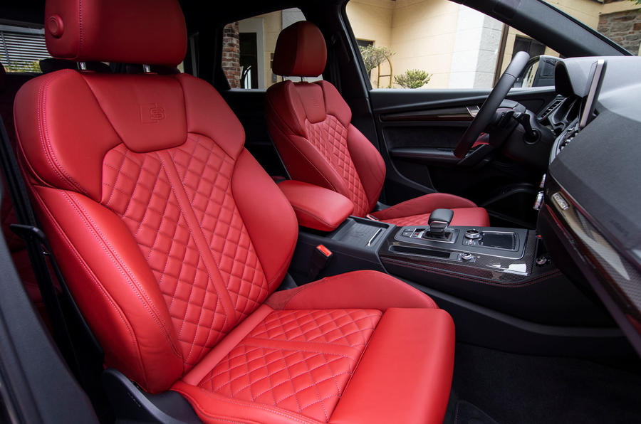 Audi SQ5 2019 first drive review - cabin