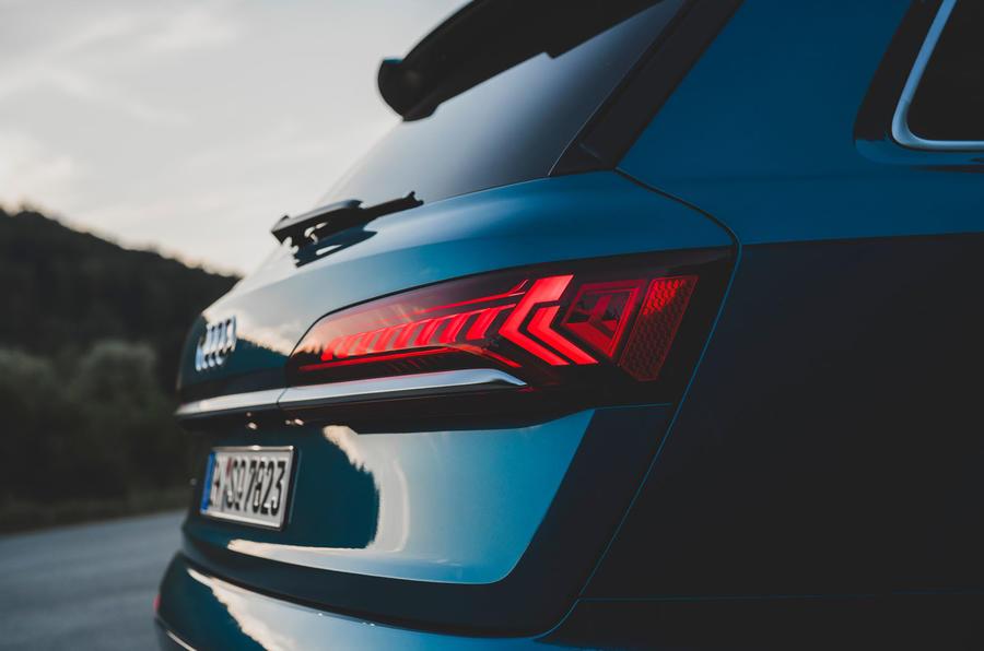 Audi SQ7 2020 : premier bilan de conduite - feux arrière