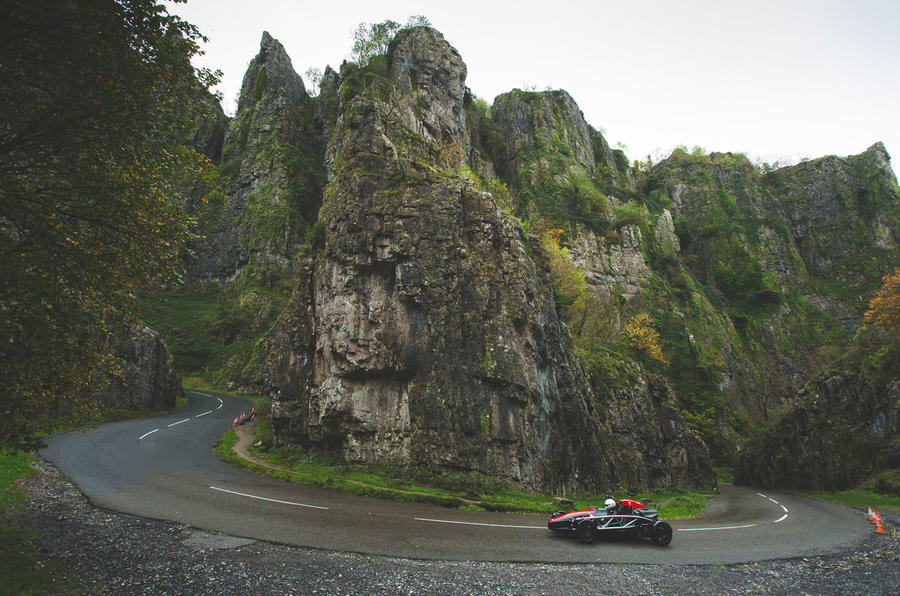 Ariel Atom 4 - Britain's Best Driver's Car 2020 - cornering