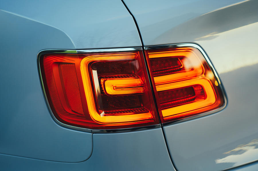 Bentley Bentayga hybrid 2019 first drive review - rear lights