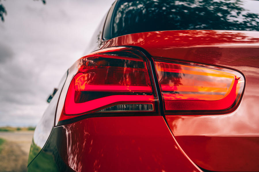 Birds BMW m140i 2020 UK first drive review - rear lights