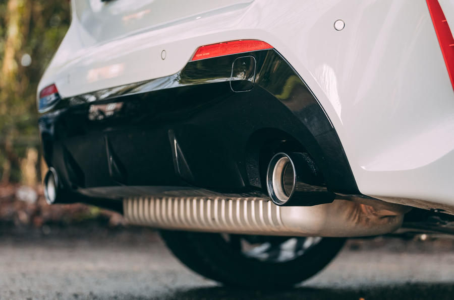 7 BMW 1 Série 128ti 2021 : premier examen des échappements au Royaume-Uni