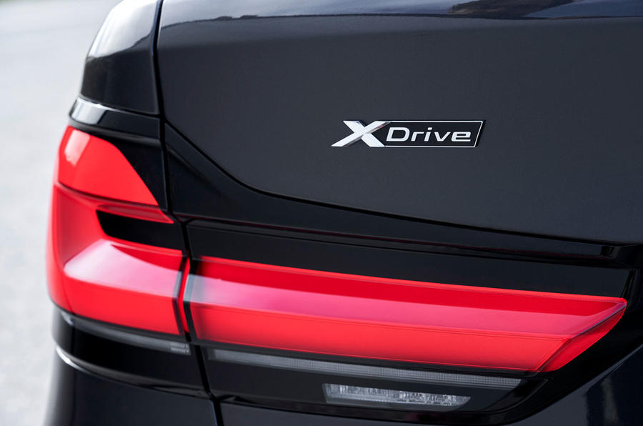 BMW 5 Series 2020 UK (LHD) first drive review - rear lights