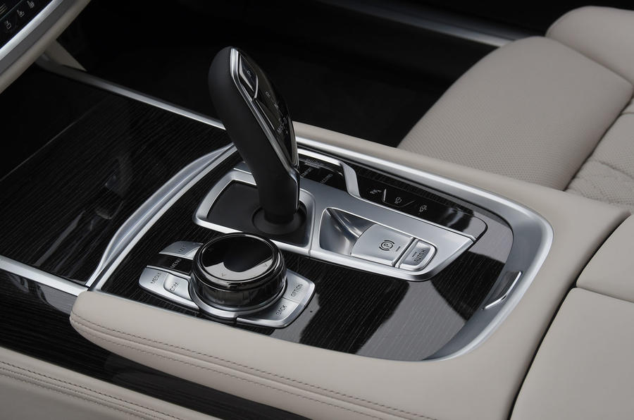 BMW 7 Series 740Ld long-term review centre console