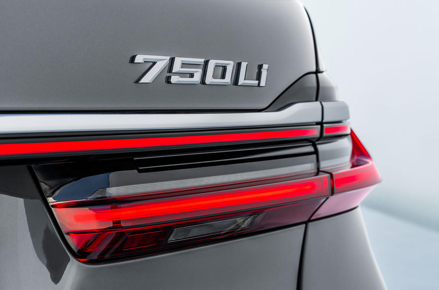 BMW 7 Series 750Li 2019 first drive review - rear lights