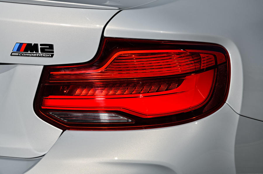 BMW M2 Competition 2018 first drive review rear lights