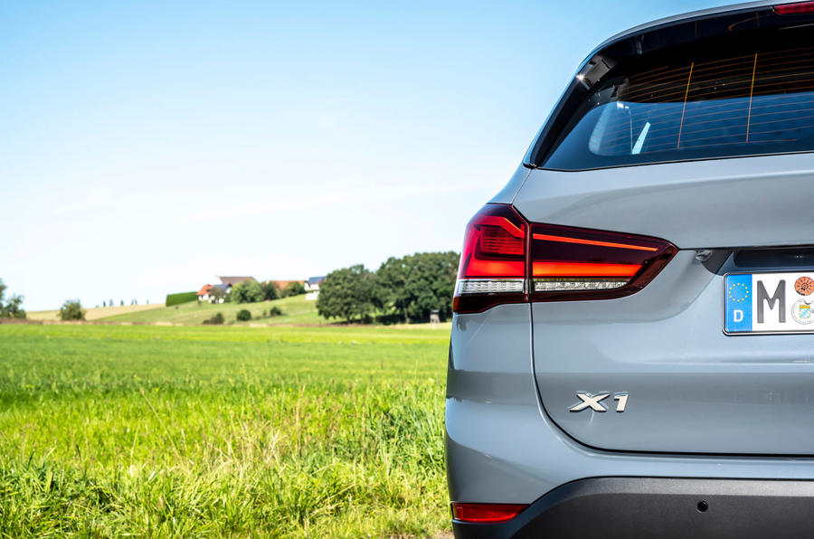BMW X1 25d 2019 first drive review - rear lights