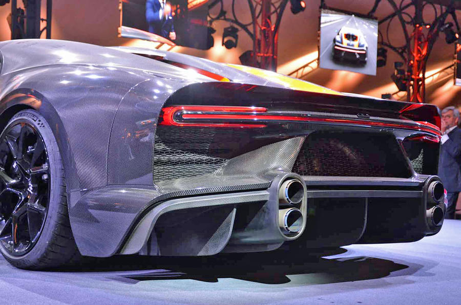 Bugatti Chiron Super Sport 300+ official debut - rear end