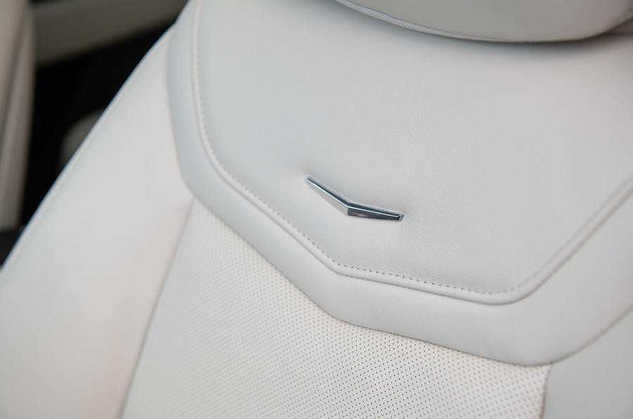 Cadillac XT6 Sport 2020 first drive review - seat details
