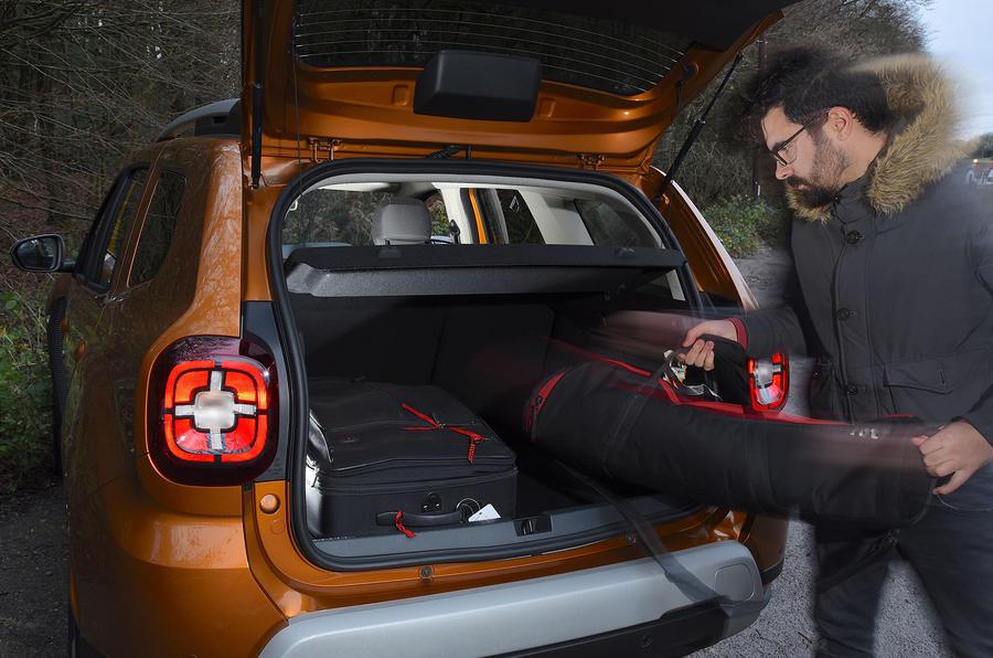 Dacia Duster 2019 long-term review - boot