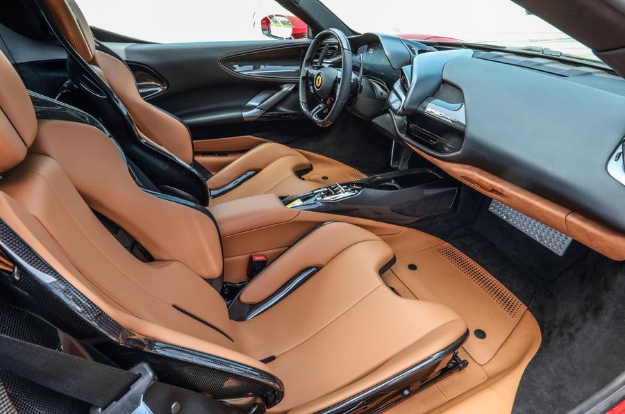 Ferrari SF90 Stradale 2020 first drive review - cabin