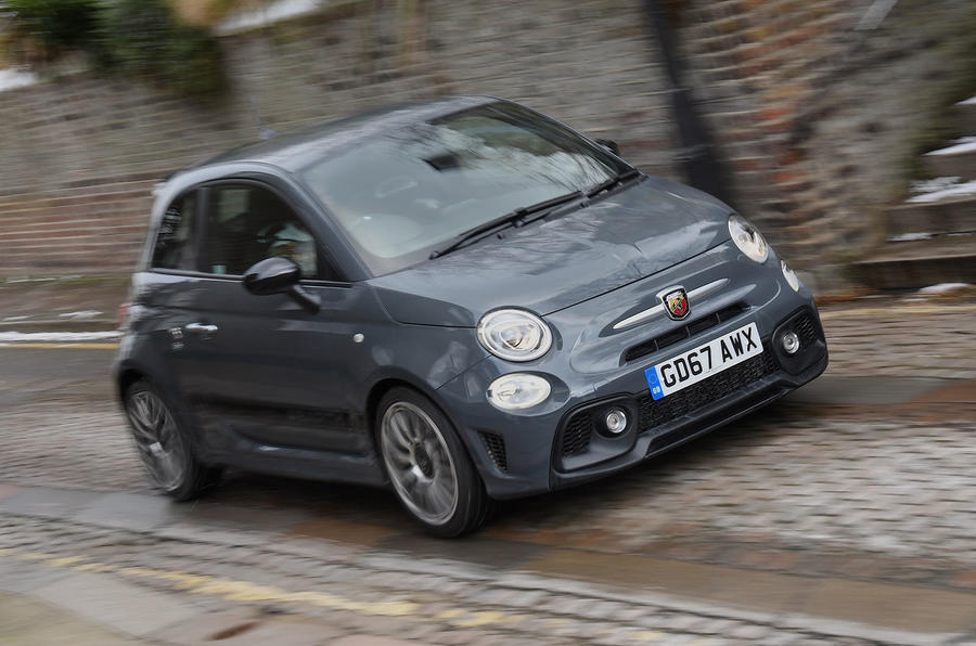 10 best pocket rockets Abarth 595 Competizione