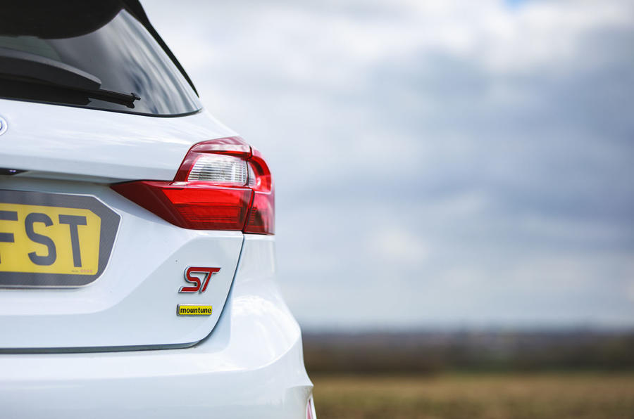 Ford Fiesta ST Mountune m235 2020 first drive review - rear lights