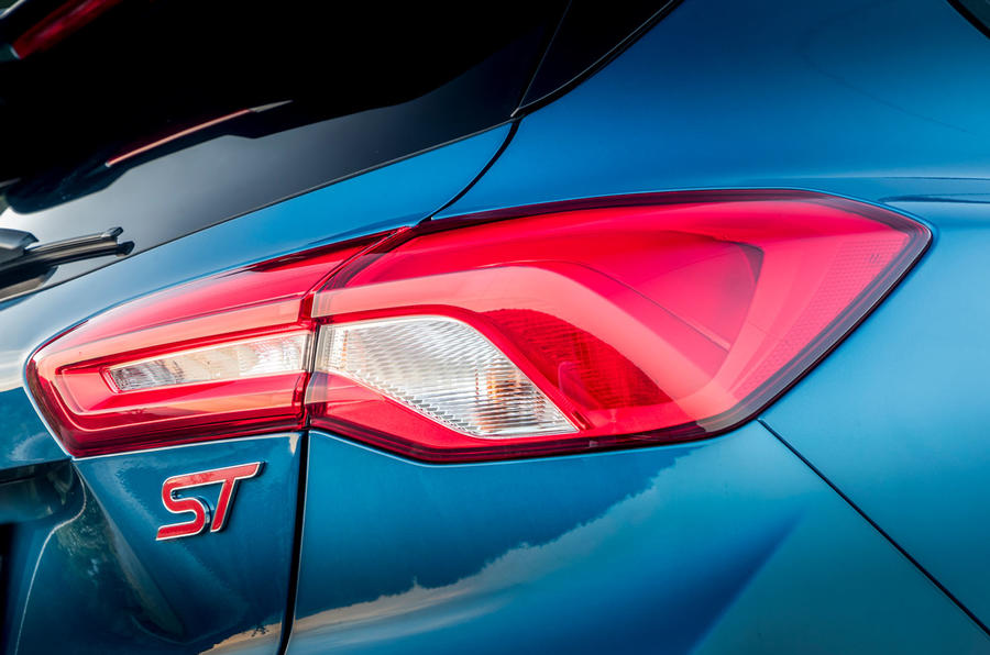 Ford Focus ST 2019 first drive review - rear lights