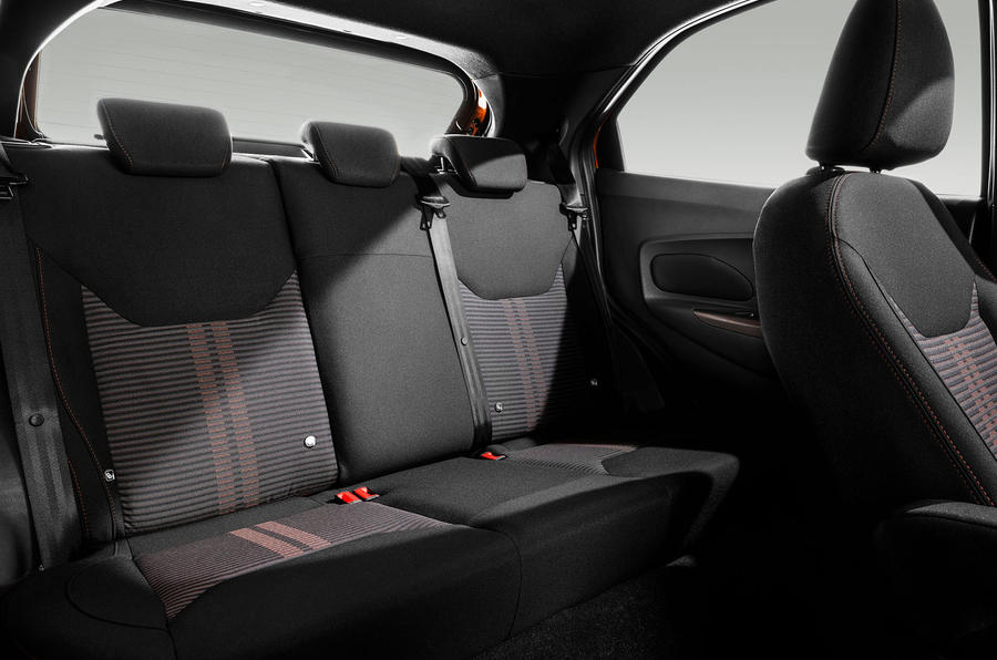 Ford Ka+ Active 2018 first drive review rear seats