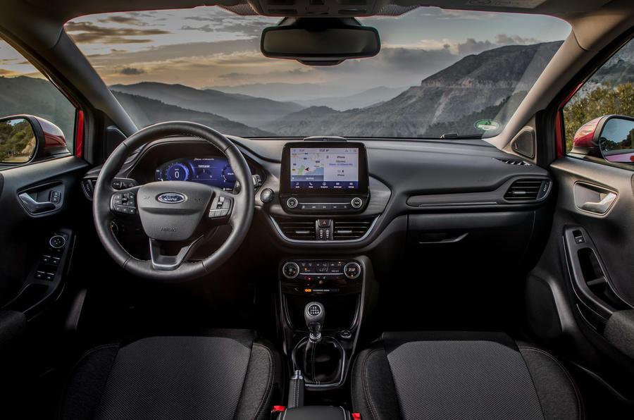 Ford Puma Titanium 2020 first drive review - dashboard