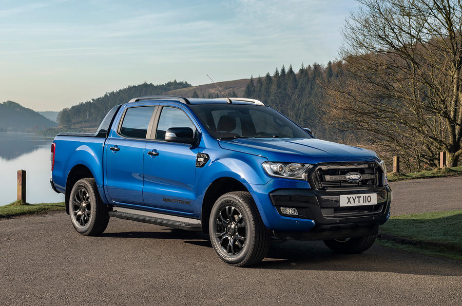 Ford Ranger Wildtrak X 2018 first drive review - static front