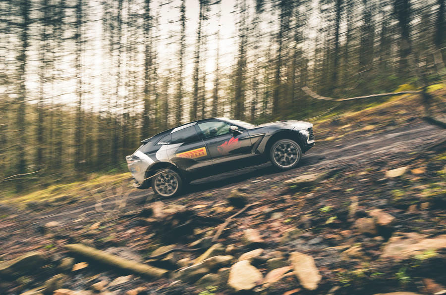 Game Changer 2020 Aston Martin DBX - side