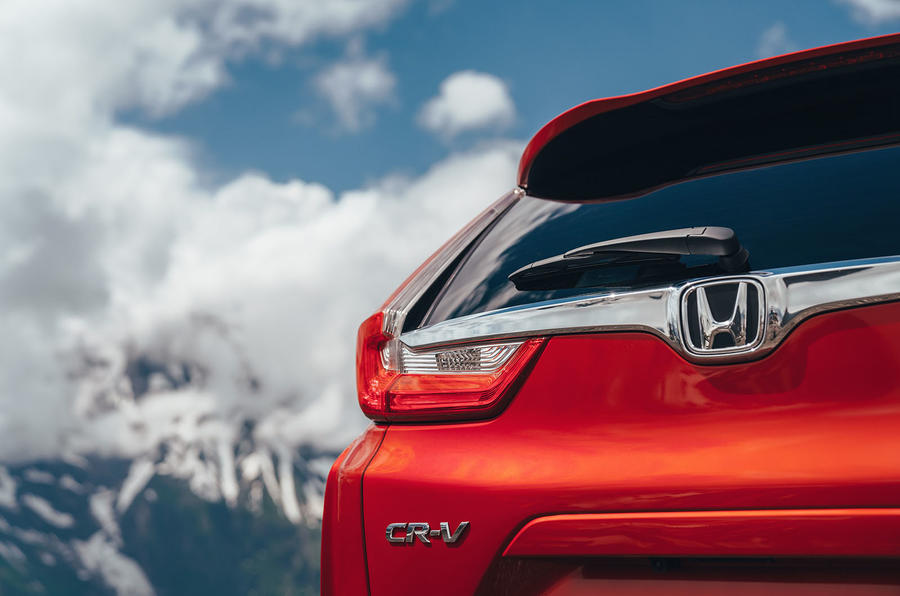 Honda CR-V 2018 first drive review rear lights