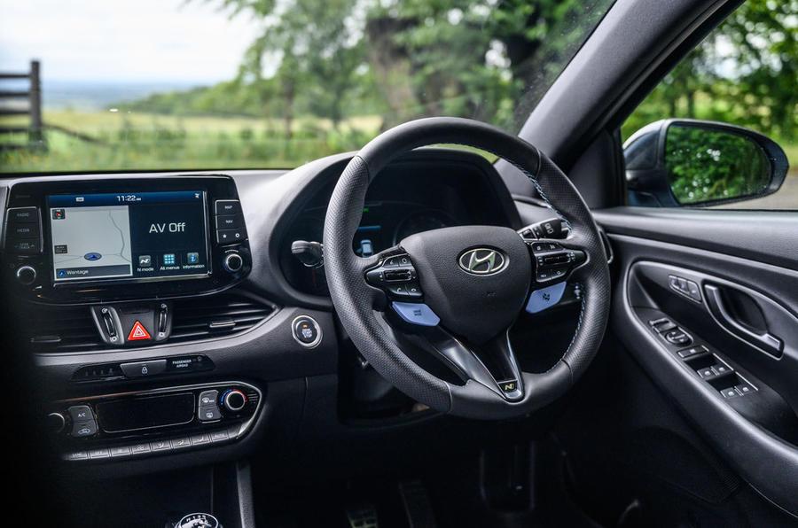 Hyundai i30 N 2020 UK first drive review - cabin