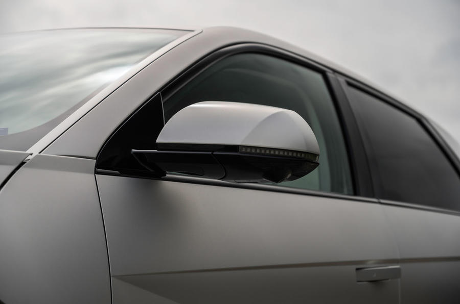 7 Hyundai Ioniq 5 2021 FD plaques de Norvège miroirs d'aile
