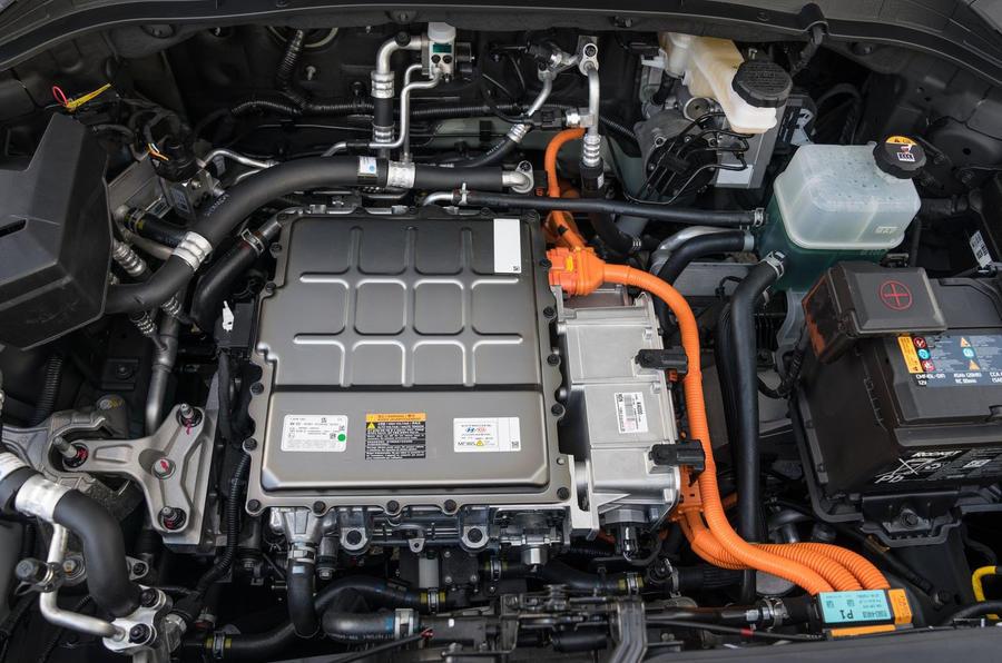 Hyundai Kona Electric 2018 first drive review engine