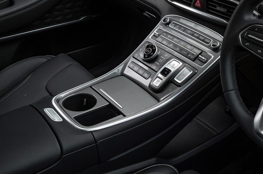 7 Hyundai Santa Fe PHEV 2021 UE FD console centrale