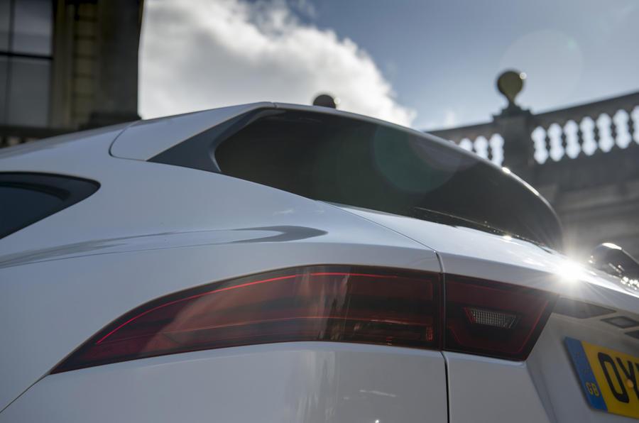 Jaguar E-Pace D150 2018 review rear lights