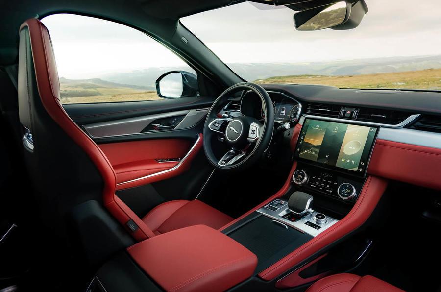7 Jaguar F Pace 2021 : le premier tableau de bord de l'examen de conduite au Royaume-Uni