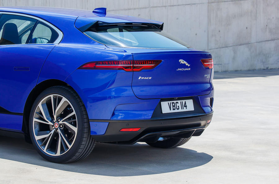 Jaguar I-Pace 2018 review rear end