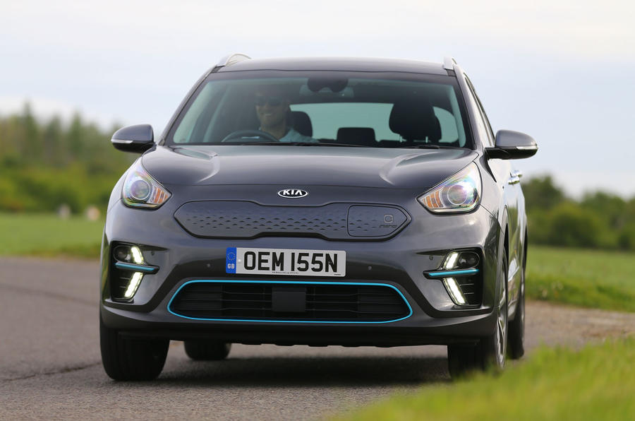 Kia e-Niro 2020 Uk first drive review - on the road front
