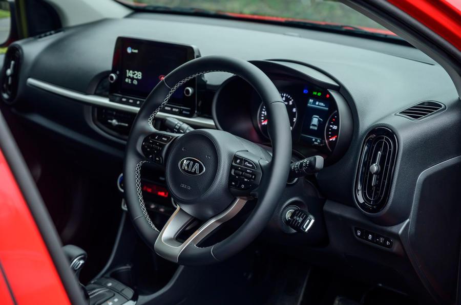 7 Kia Picanto 2021 première cabine d'examen de conduite