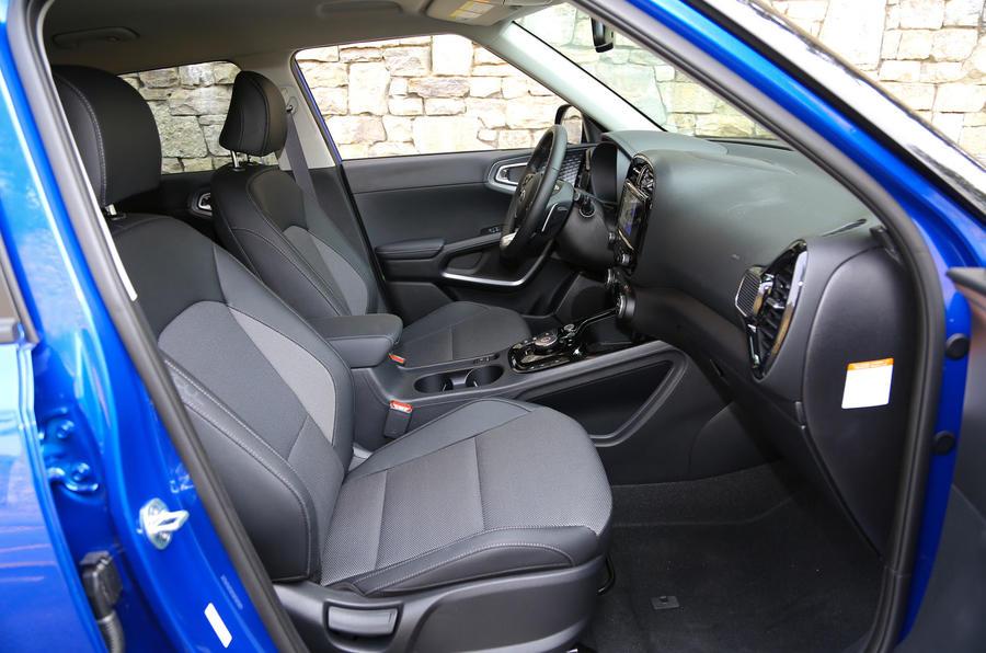 Kia Soul EV 2019 first drive review - cabin