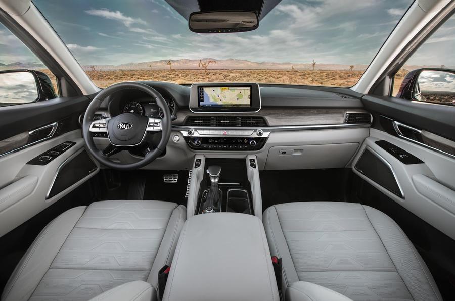 Kia Telluride 2019 first drive review - cabin