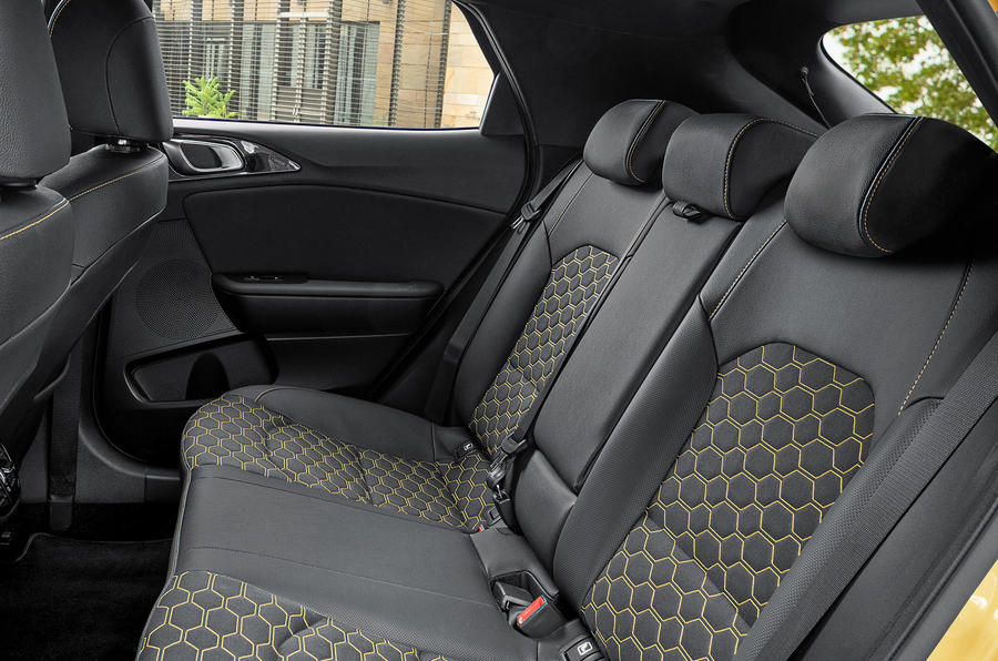 Kia Xceed 2019 first drive review - rear seats