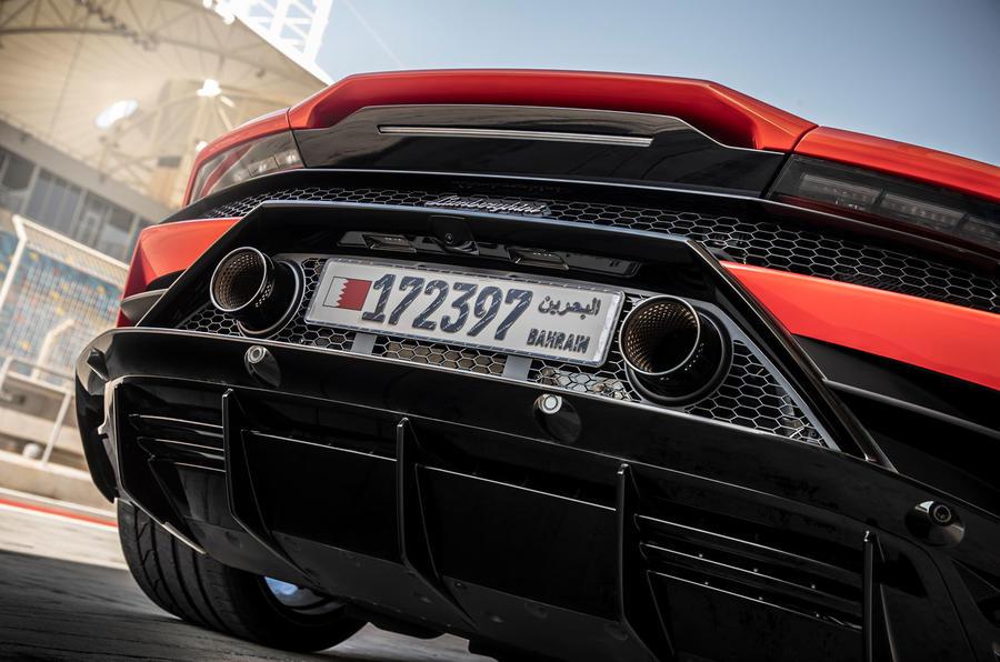 Lamborghini Huracan Evo 2019 first drive review - exhausts